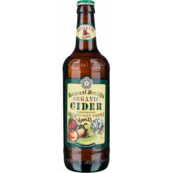 Сидр Samuel Smith's Organic яблочный фильтрованный алк. 5%, 550 мл