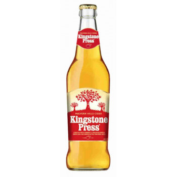 Сидр яблочный полусухой Kingstone Press Classic Apple Cider алк. 5,3%, 0,5 л