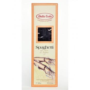 Спагетти нери Dalla Costa с чернилами каракатицы, 500 гр