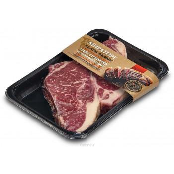 Стейк Стриплойн PRIME Мираторг из мраморной говядины, 640 гр