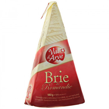 Сыр Бри Романди мягкий с  белой плесенью, Margot Fromages, Швейцария, 180 гр