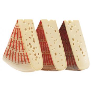 Сыр  Эмменталер полутвердый  45% жирности, Margot Fromages, Швейцарский, 100 гр