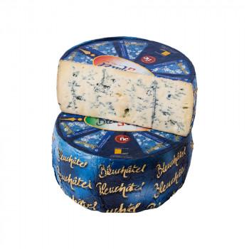 Сыр с голубой  плесенью Блюшатель 55% жирности, Margot Fromages, Швейцария, 100 гр