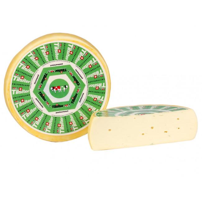 Сыр Сыр Тильзитер полутвердый 45% жирности, Margot Fromages, Швейцария, 100 гр