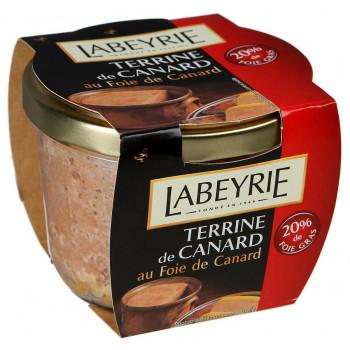 Террин LaBeyrie утиный с утиной печенью, 170 гр