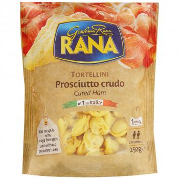 Тортеллини Rana с сыровяленной ветчиной и твердым сыром, 250 гр