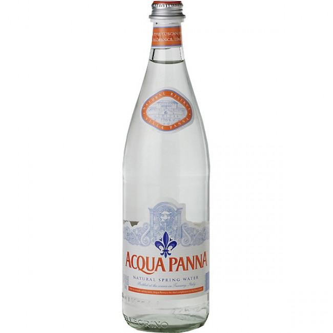 Природная питьевая вода Aqua Panna, 0.75 л стекло