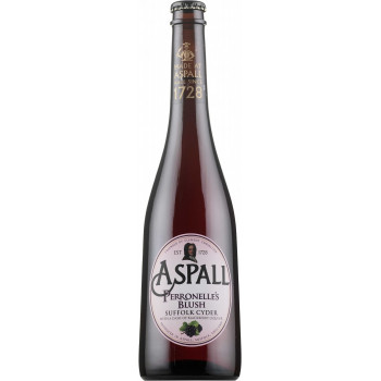 Сидр Aspall, Perronelle's Blush Яблочный полусухой алк. 4%, 0.5 л