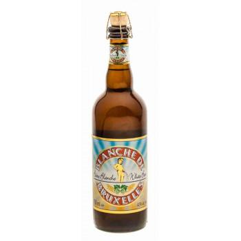 Пиво Blanche De Bruxelles Светлое нефильтрованное алк. 4,5%, 0,33 л