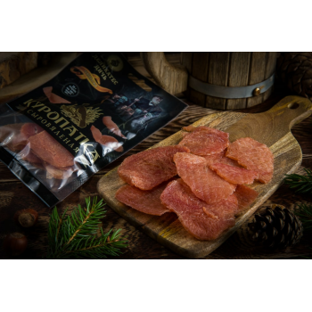 Чипсы из мяса Куропатки Деликатес дичь в подарочной упаковке, 35гр