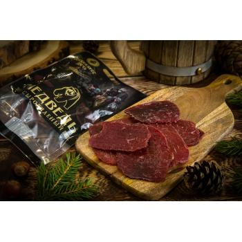 Чипсы из мяса Медведя Деликатес дичь, 35 гр