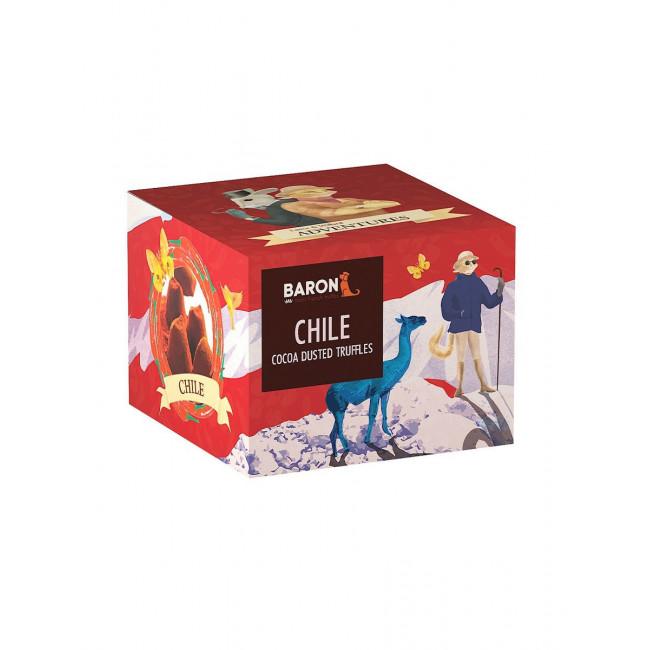 Французские трюфели Baron со вкусом чили, 100г.