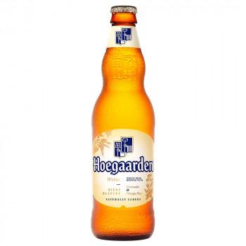 Пиво Hoegaarden светлое нефильтрованное алк. 4,9%, бут. 0,33 л
