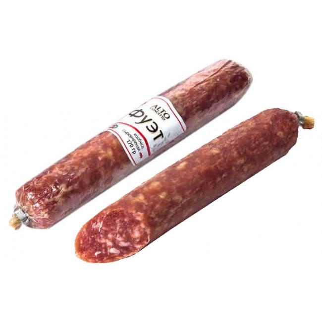 Колбаса Alto Concetto сыровяленая, 170 гр