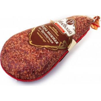 Колбаса Рублевский Пера нежная по-французски сырокопченая, вес