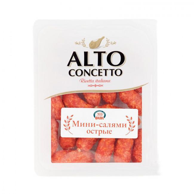 Колбаски ALTO Мини-салями острые, 150 гр