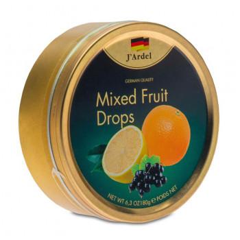 Леденцы со вкусом фруктов JARDEL, 180г.
