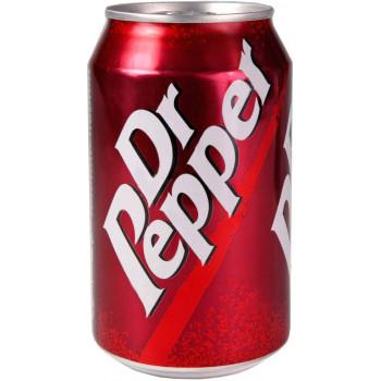 Газированный напиток Dr.Pepper, 0.33 л ж/б