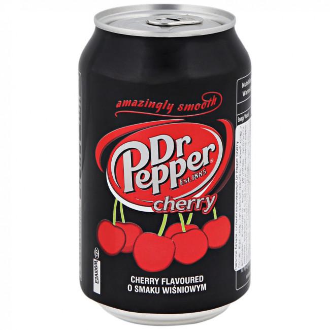 Напиток Dr.Pepper Cherry, 0.33 л ж/б