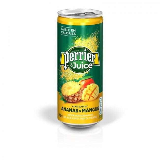 Напиток Perrie Ананас-Манго, 0.25 л ж/б