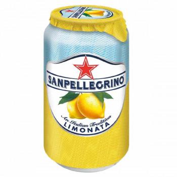 Напиток SanPellegrino Лимон газированный, 0.33 л ж/б