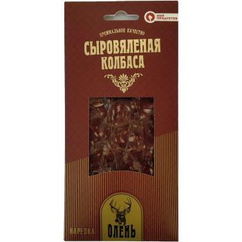 Нарезка сыровяленая из Оленины Мир продуктов,  75 гр.