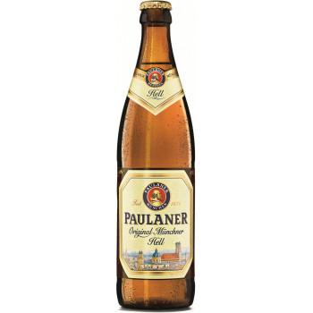 Пиво Paulaner Original Munchner Hell Оригинальное мюнхенское светлое алк. 4,9%, 0.5 л