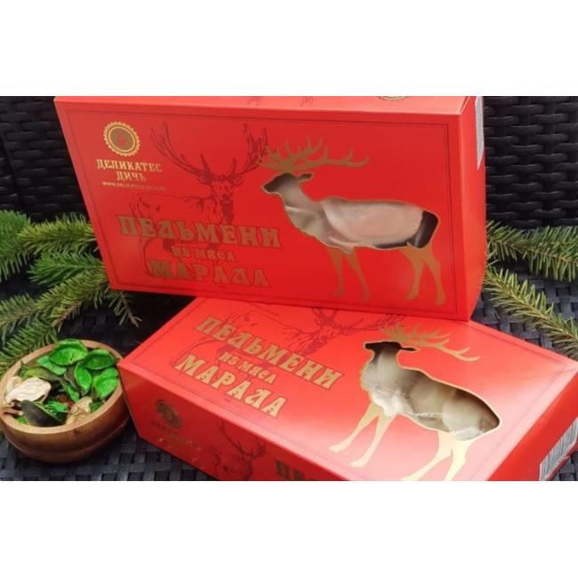 Пельмени из мяса Марала Деликатес дичь, 800 гр