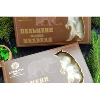 Пельмени из мяса Медведя Деликатес дичь, 800 гр