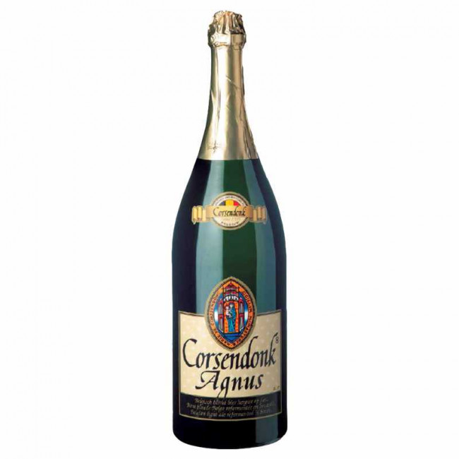 Пиво Corsendonk Agnus Tripel Светлое фильтрованное алк. 7,5%, 1,5 л