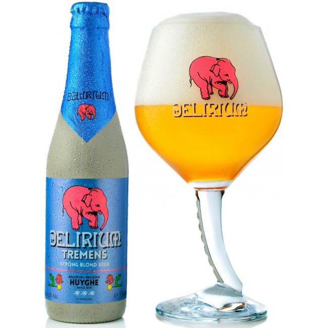 Пиво Delirium Tremens Светлое фильтрованное алк. 8,5%, 0.33 л