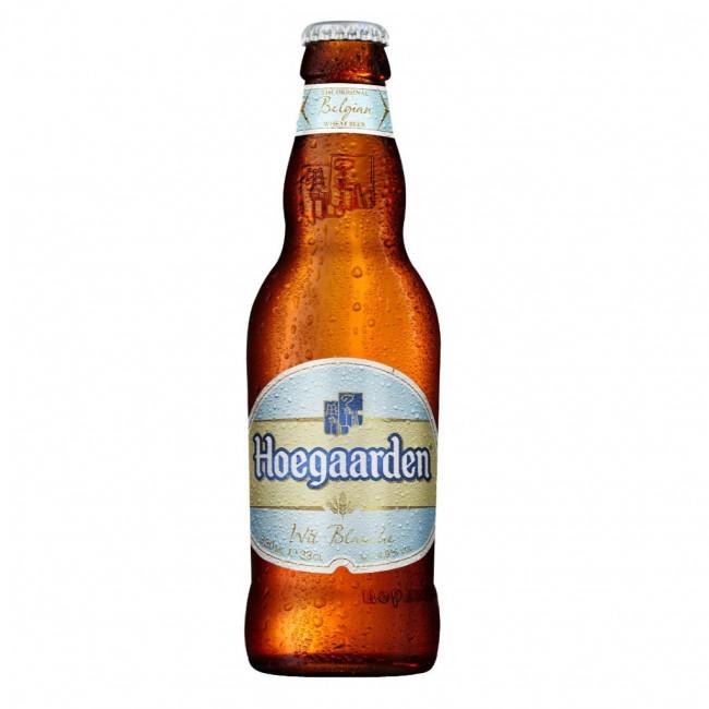 Пиво Hoegaarden светлое нефильтрованное алк. 4,9%, бут. 0,75 л