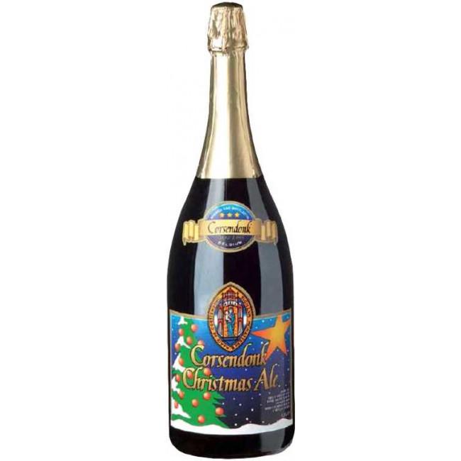 Пиво Corsendonk Рождественский эль тёмное алк. 8,5%, 1,5 л