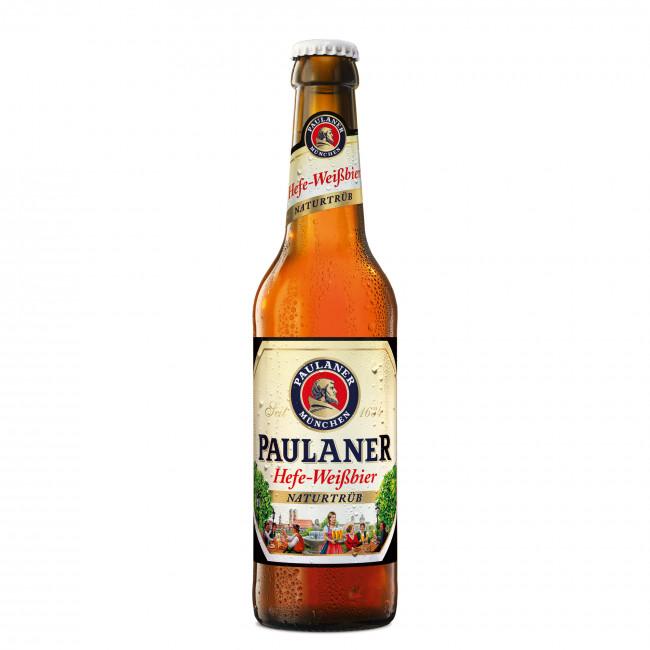 Пиво Paulaner Hefe-Weissbier Светлое нефильтрованное алк. 5,5%, 0,5 лбир