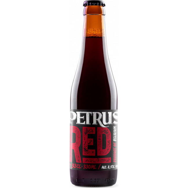 Пиво Petrus Red Коричневое фильтрованное алк. 8,5%, 0.33 л