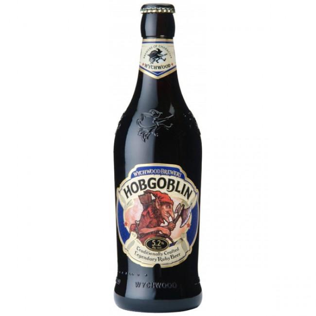 Пиво Wychwood Hobgoblin Тёмное фильтрованное алк. 5,2%, 0.5 л