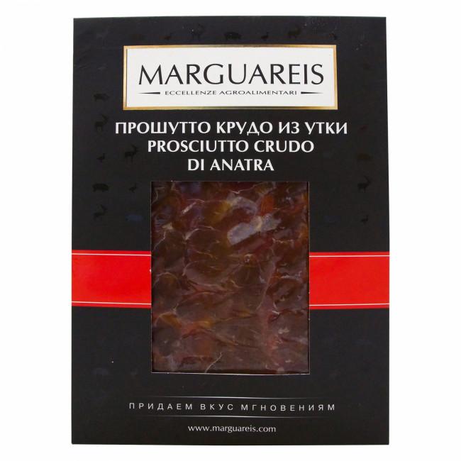 Прошутто Крудо Marguareis из мяса утиной грудки,  нарезка 30 г
