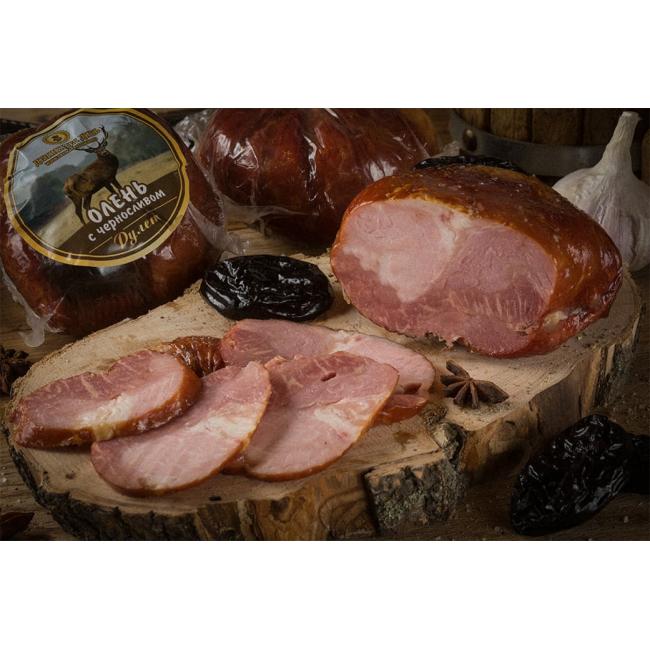 Рулет Деликатес дичь из мяса Оленя с черносливом, 315 гр