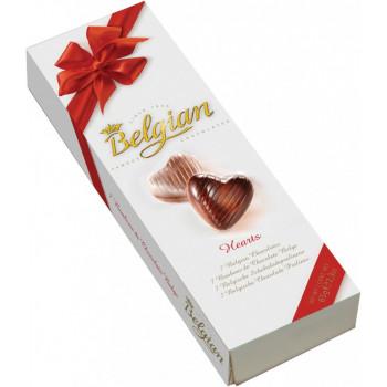 Шоколадные конфеты The Belgian Сердечки, 65 гр
