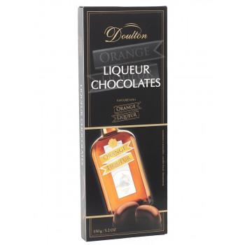 Шоколадные конфеты Doulton с апельсиновым ликером, 150 гр