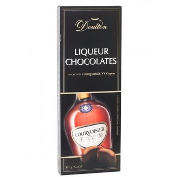 Шоколадные конфеты Doulton виски с коньяком, 150г