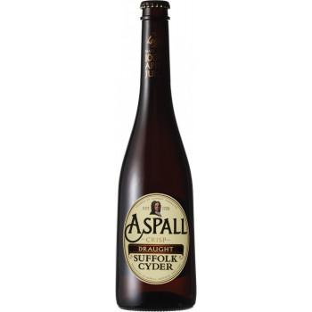 Сидр Aspall Crisp Draught Яблочный полусухой алк. 5,5%, 0.5 л