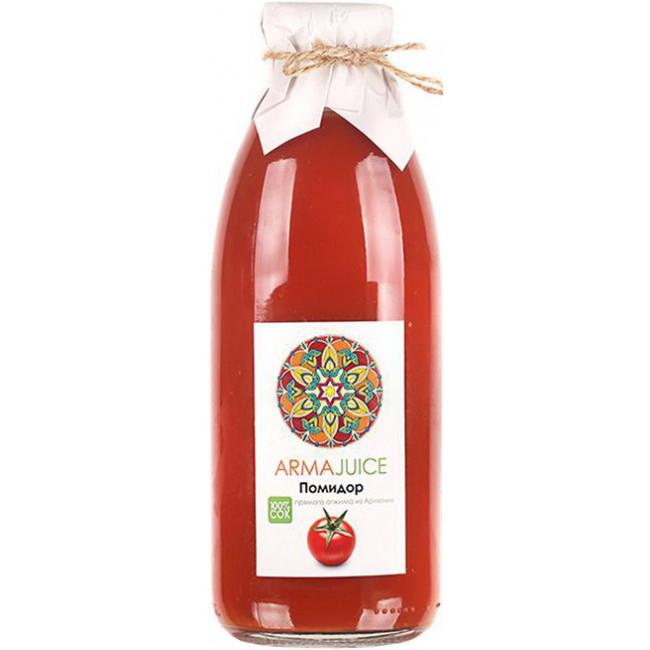 Сок ARMAjuice из помидоров (прямой отжим), 0.75 л