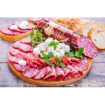 Колбаса Рублевский Тарусская сырокопченая высший сорт, вес