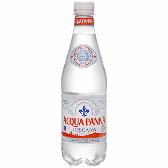Природная питьевая вода Aqua Panna, 0,5 л ПЭТ