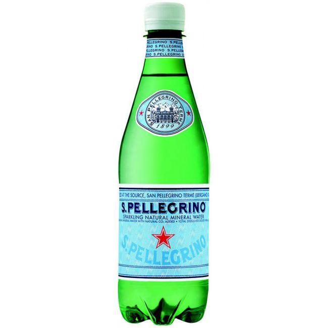 Газированная вода San Pellegrino, 0.5 л ПЭТ