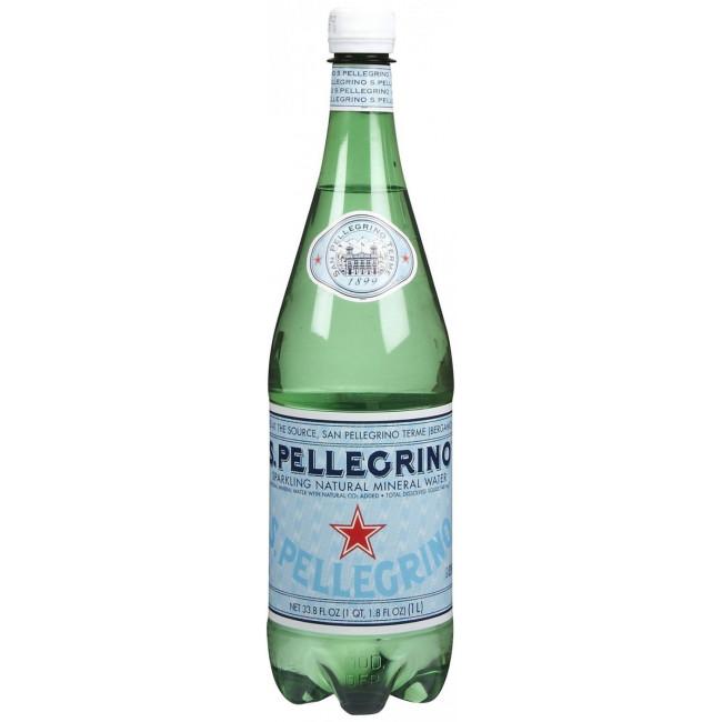 Газированная вода San Pellegrino, 1 л ПЭТ