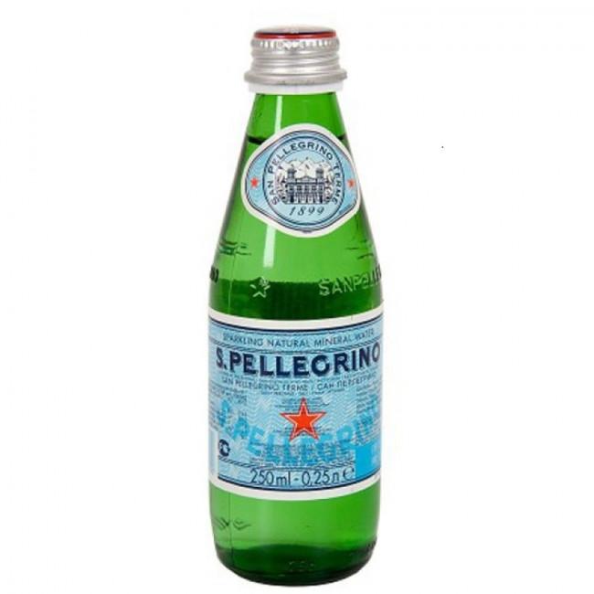 Газированная вода San Pellegrino, 0.25 л стекло