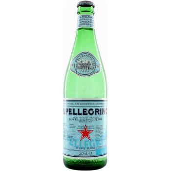 Газированная вода San Pellegrino, 0.5 л стекло