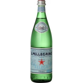 Газированная вода San Pellegrino, 0.75 л стекло